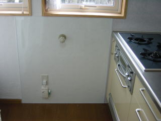 キッチン パネル diy