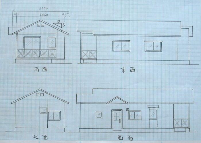 ハーフビルドの家作り ~ 設計 ...